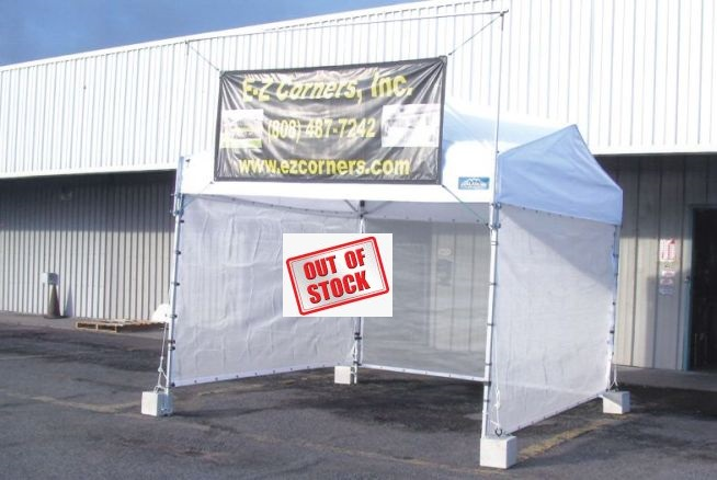 10u0027x10u0027 Avalanche Pop Up Tent with 6x10 shade screens banner holders ... & EZ Corners Inc. - Gallery